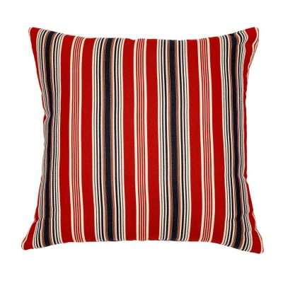 Red Stripes Handmade Cushion Cover | MotzDESIGNS Custom Interior Design | Quality Soft Furnishings | Custom Curtains | Handmade in Australia | MotzDESIGNS | Home Decor Brisbane | Online Shop | Interior Decoration | Interior Decorator
