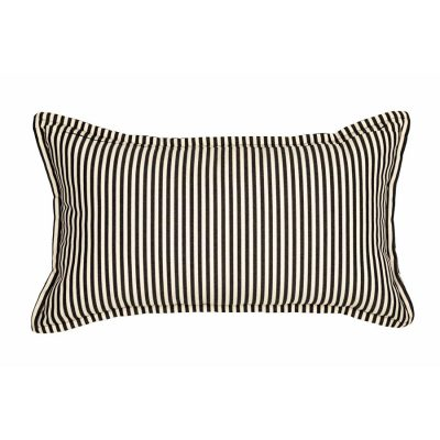 Black White Stripes Handmade Cushion Cover | MotzDESIGNS Custom Interior Design | Quality Soft Furnishings | Custom Curtains | Handmade in Australia | MotzDESIGNS | Home Decor Brisbane | Online Shop | Interior Decoration | Interior Decorator