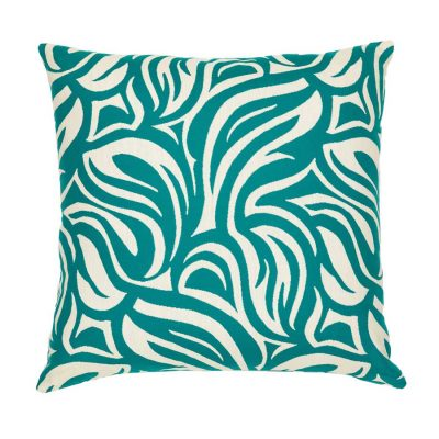 Turquoise Leaves Handmade Cushion Cover | MotzDESIGNS Custom Interior Design | Quality Soft Furnishings | Custom Curtains | Handmade in Australia | MotzDESIGNS | Home Decor Brisbane | Online Shop | Interior Decoration | Interior Decorator