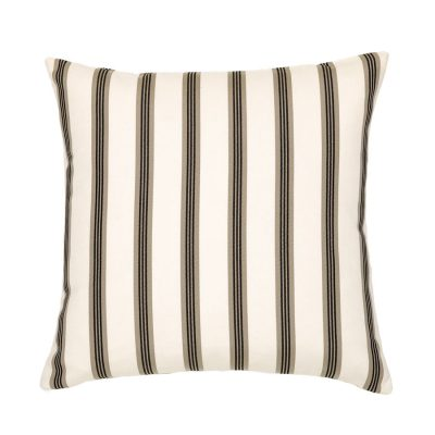 Brown Stripes Handmade Cushion Cover | MotzDESIGNS Custom Interior Design | Quality Soft Furnishings | Custom Curtains | Handmade in Australia | MotzDESIGNS | Home Decor Brisbane | Online Shop | Interior Decoration | Interior Decorator