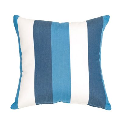 Blue Stipes Coastal Handmade Cushion Cover | MotzDESIGNS Custom Interior Design | Quality Soft Furnishings | Custom Curtains | Handmade in Australia | MotzDESIGNS | Home Decor Brisbane | Online Shop | Interior Decoration | Interior Decorator